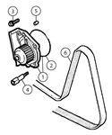 MGF and MG TF Water Pump
