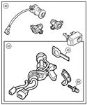 MGF and MG TF Steering Lock and Lock Sets