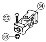 MGB Steering Column Universal Joints - Rubber Bumper Models Including V8