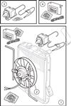 Triumph TR5-250 Electronic Fan Conversion Kits - 6 Cylinder