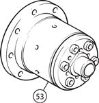 Triumph TR4A-5-250 Limited Slip Differential - IRS