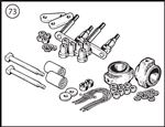 Triumph TR2-4 Rear Suspension Kits - Solid Axle