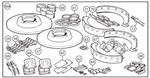 Triumph TR3B TCF Series, TR4 from CT4388 Brake Overhaul Kits - Full