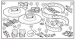 Triumph TR4A, TR5, TR250 Brake Overhaul Kits - Full - with Later Seal Design Imperial TR6 Calipers