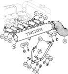 Triumph TR6 Air Manifold