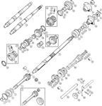 Triumph TR6 Constant Pinion and Mainshafts