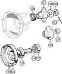 Triumph TR6 Annulus and Rear Flange - A-Type