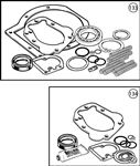 Triumph TR6 A Type Overdrive Overhaul Kits