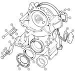 Rover V8 Timing Cover & Fittings