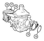 Rover V8 Carb Mountings - 4x4 CD175 and HIF44 Carbs