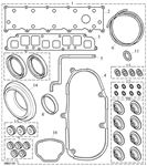 Rover 600 Gasket Set - Cylinder Head - 2000 Diesel to AM246796