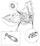 Rover 400/45/MG ZS Inhibitor Switch - CVT - 1800 Petrol Auto