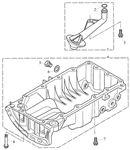 Rover 400/45/MG ZS Sump - 1800 Petrol K Series