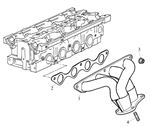 Rover 400/45/MG ZS Exhaust Manifold - 1600 Petrol 16V DOHC
