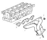 Rover 400/45/MG ZS Exhaust Manifold - 1400 Petrol 16V K Series
