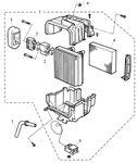 Rover 400/45/MG ZS Evaporator 2000/2500 V6 Petrol