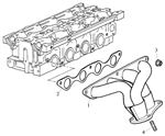 Rover 200 Coupe/Cabriolet and 400 Tourer Exhaust Manifold - 1800 Petrol VVC