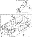 Rover 200/25/MG ZR Sump MPi K Series - 1600 Petrol 16V DOHC