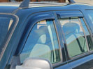 Freelander 1997-2006 Door Wind Deflectors