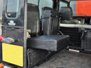 90-110 and Defender Replacement Seats - Inward Facing Tip Up/Fold Up Seats
