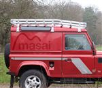 Masai Curved Luggage Roof Rack - Aluminium