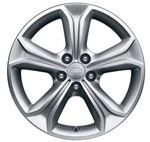 17 Inch Alloy Wheel - 5 Spoke - Style 522 - Genuine Land Rover