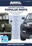 Rimmer Bros Land Rover and Range Rover Popular Parts Catalogue (1948-Present Day)