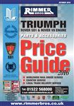 Rimmer Bros Price Guide Triumph/Rover SD1 October 2016