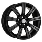 Alloy Wheel Stormer Matt Black - 20 x 9.5 - RA2097 - Aftermarket
