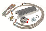Spin on Conversion and Oil Cooler Kit with Braided Hoses - TR2-4A - RF4028SPINON