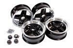 Revolution Alloy Wheel Kit - 5.5J x 13 - 7/16 Studs - Set of 4 - Inc Nuts and Centres