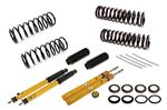 Spax KSX Front Insert and Rear Shock Absorber Kit - Adjustable On Car - with Standard Springs and Poly Insulators - Stag