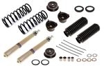 Front Suspension Legs Overhaul Kit with GAZ Top Adjustable Inserts - Stag