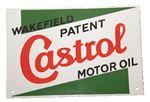 Castrol Classic Large Enamel Sign - RX1802E