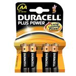 Duracell Batteries - Pack of 4 - AA Power Plus