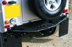 Rear Step - Fixed Full Width type - Black - Defender 110 - STC50301 - Genuine