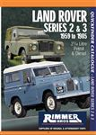 Rimmer Bros Land Rover Series 2 and 3 Quickfinder Catalogue