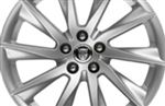Rear Alloy Wheel - Single - Vela 18 x 10 inch - T2R1858 - Genuine Jaguar