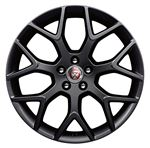 Front Alloy Wheel - Single - Centrifuge 19 Inch Black - T2R4750 - Genuine Jaguar