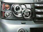 Front Lamp Guards - Pair - Genuine Land Rover