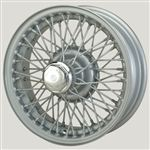 MWS Centre Lock Tubeless Wire Wheel - Painted - 60 Spoke - 4.5 x 14
