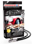 Goodridge Classic Braided Brake Hose Kit - SRA01035PVB