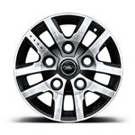 16 Inch Kahn Design Defender Alloy Wheel - Diamond Turned