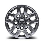 16 Inch Kahn Design Defender Alloy Wheel - Silver