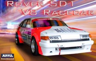 Rover SD1 V8 Racecar