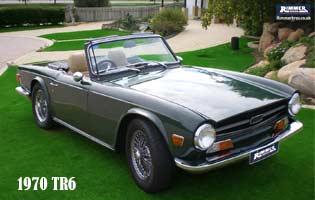 1970 TR6