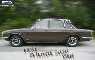 1973 Triumph 2000 MkII