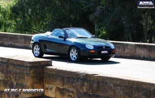 97 MG F Roadster