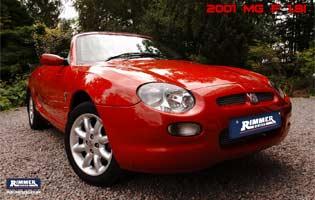 2001 MG F 1.8i