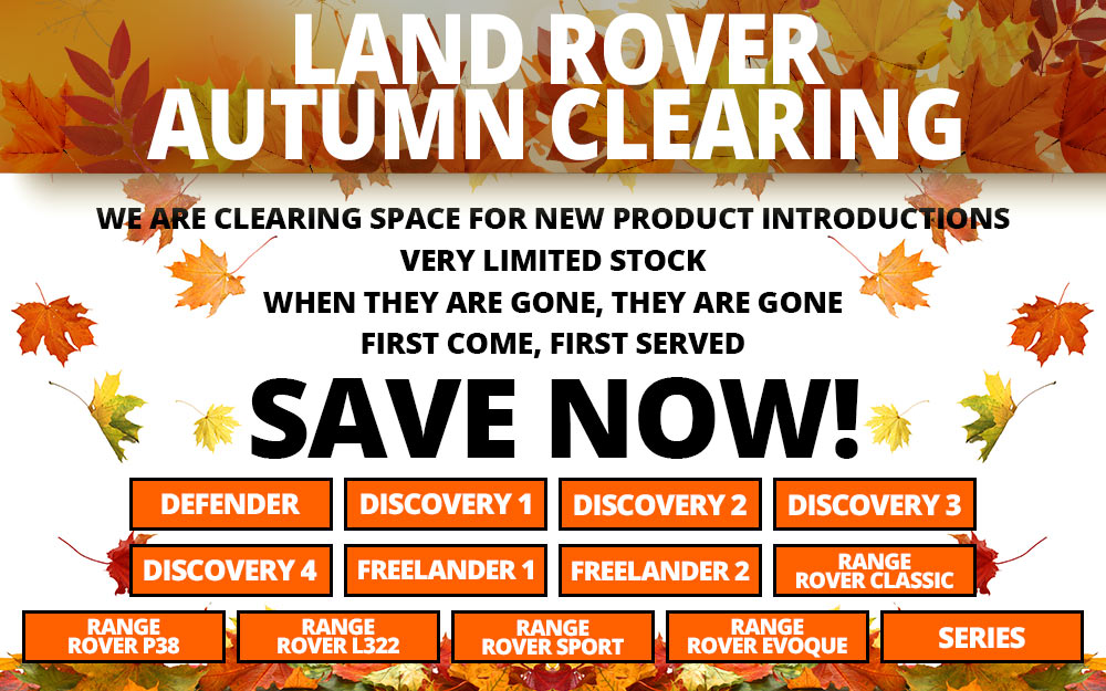 Land Rover Autumn Clearing